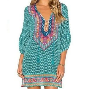 NWT Urban Coco Print Top/Tunic M